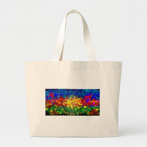 Abstract art painting posters cases t-shirts iPad Tote Bag