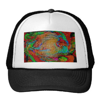 Abstract art painting posters red t-shirts print cap