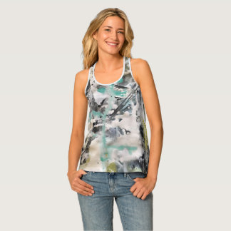 Abstract Art Painting Tank Top