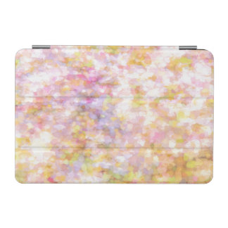 Abstract Art Pale Yellow Pastel iPad Mini Cover