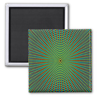 Abstract Art Pattern Kaleidoscope Magnet