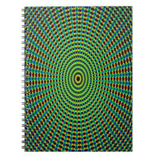 Abstract Art Pattern Kaleidoscope Notebooks