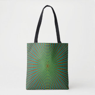 Abstract Art Pattern Kaleidoscope Tote Bag