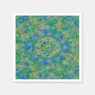 Abstract Art Patterns Disposable Napkins