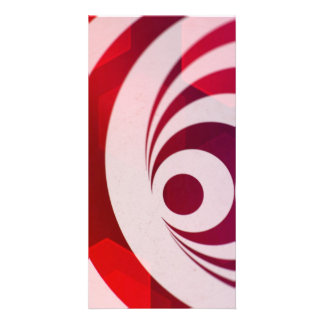 Abstract Art Photo Card
