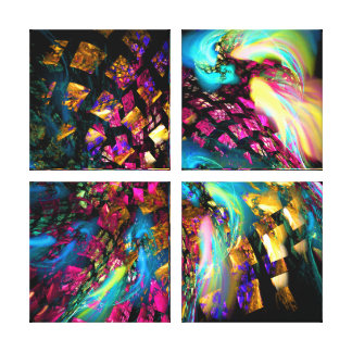 Abstract Art: Pieces Of A Dream Canvas Print