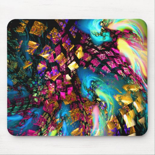 Abstract Art: Pieces Of A Dream Mousepad
