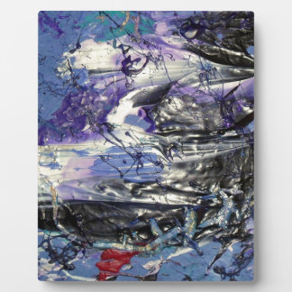 Abstract Art Plaque