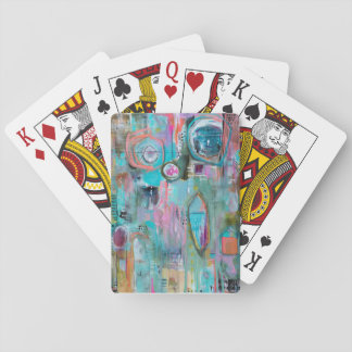 Abstract Art Playing Cards