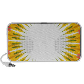 ABSTRACT ART PORTABLE SPEAKERS
