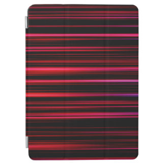 Abstract Art Purple Tubes iPad Air Cover