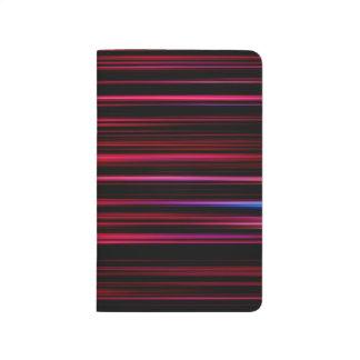 Abstract Art Purple Tubes Journal