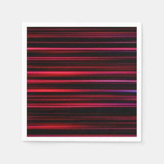 Abstract Art Purple Tubes Paper Serviettes