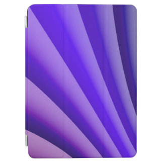 Abstract Art Purple Wave iPad Air Cover