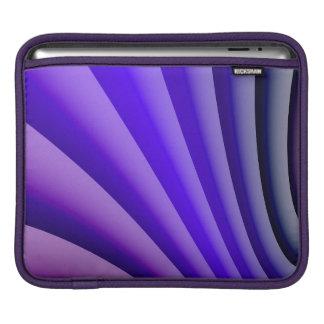Abstract Art Purple Wave iPad Sleeve