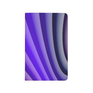 Abstract Art Purple Wave Journal