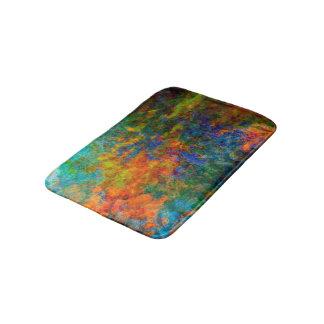 Abstract Art Rainbow Colors Bath Mat