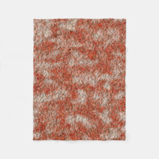 Abstract Art Red And White Background Fleece Blanket