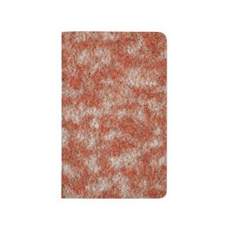 Abstract Art Red And White Background Journal