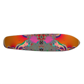 Abstract Art Red Meditation Skate Deck