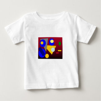 Abstract Art  - Red Submission Baby T-Shirt