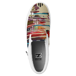 Abstract Art Shoes Printed Shoes