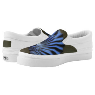 Abstract art Slip-On shoes
