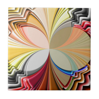 ABSTRACT ART SMALL SQUARE TILE
