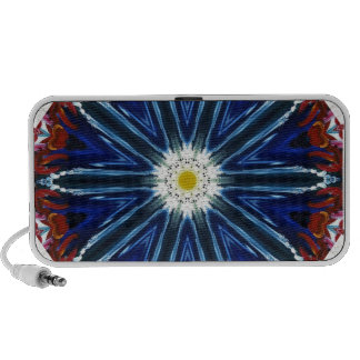 ABSTRACT ART NOTEBOOK SPEAKERS