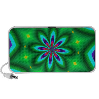 ABSTRACT ART LAPTOP SPEAKERS