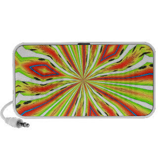 ABSTRACT ART PC SPEAKERS