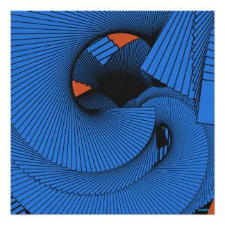 Abstract art. Spiral No.1