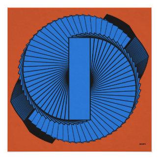 Abstract art. Spiral No.2