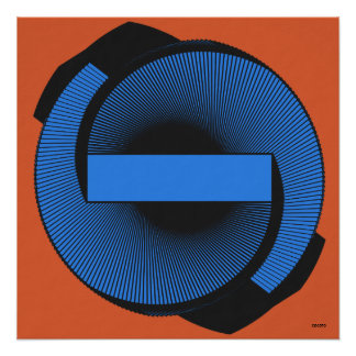 Abstract art. Spiral No.3