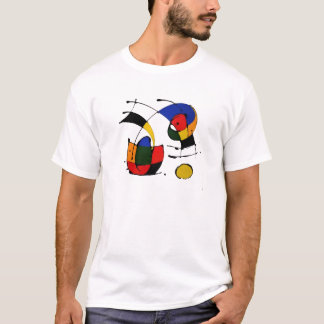 Abstract Art Surrealism in the style of Joan Miro T-Shirt