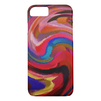 Abstract Art Swirl Colorful Paint Background #27 iPhone 7 Case