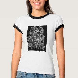 Abstract art t-shirt design
