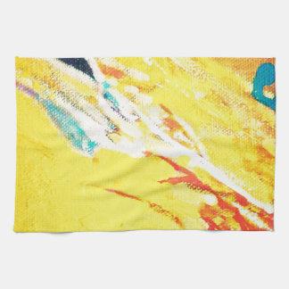 Abstract Art Tea Towel