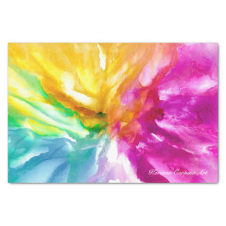 Abstract Art Tissue Paper