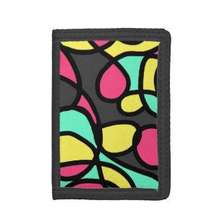 Abstract Art Tri-fold Wallet
