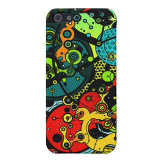 Abstract art trippy iphone case iPhone 5 cases