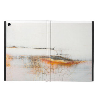 Abstract art unique crackle surface design iPad air cover