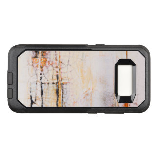 Abstract art unique surface design OtterBox commuter samsung galaxy s8 case