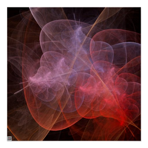 Abstract Art Wonderful Galaxy Posters