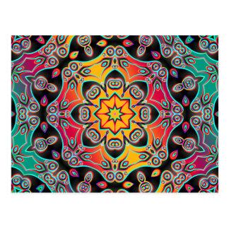 Abstract ARTs - Kaleidoscope 16 Postcard