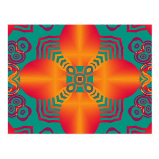 Abstract ARTs - Kaleidoscope 1 Postcard