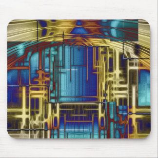 Abstract ARTs - railstation Mouse Pad