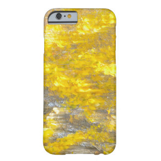 Abstract Aspen leaves iphone cell phone case