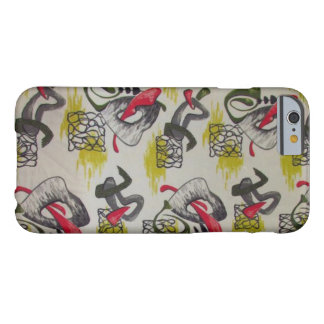 Abstract Atomic Nature Barely There iPhone 6 Case