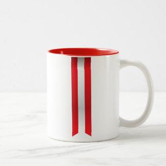 Abstract Austria Flag, Austrian Colors Mug